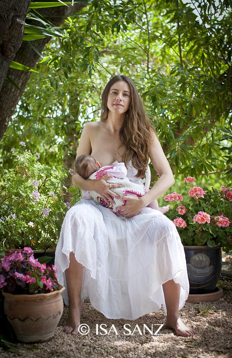 Francesca y Mia. Isa Sanz. Fotografía cortesía de la autora.